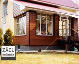 Применение фасадных панелей Zagu Muris