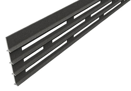 Декоративная планка с прямоугольными отверстиями Megawood Compact Fix