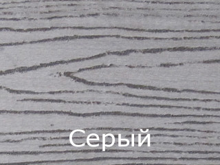 Террасная доска TardeX Professional, цвет: серый
