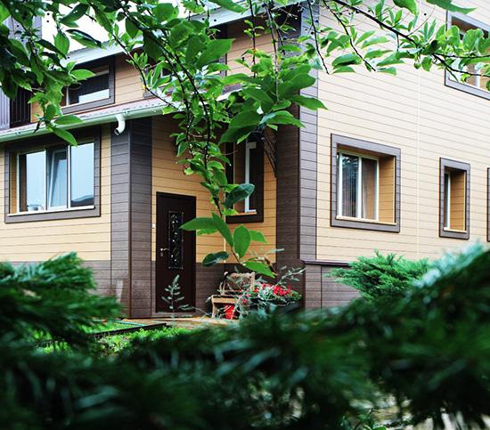 Полимерные фасадные панели Zagu Muris в Украине